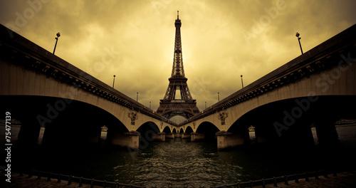Photo Stands Paris Eiffel tower, Paris