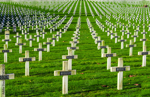 Fotografía  Cemetery world war one in France Vimy La Targette