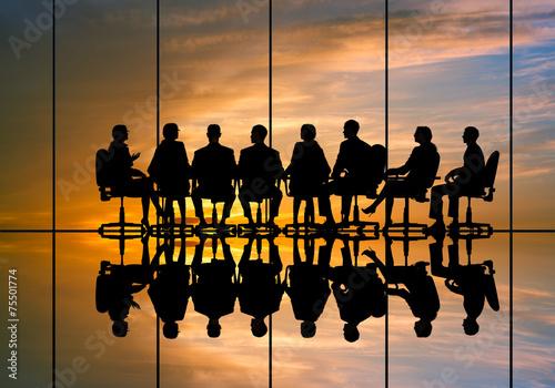 Fotografie, Obraz  Business meeting