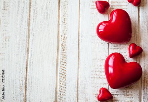 Fotografia  Red hearts