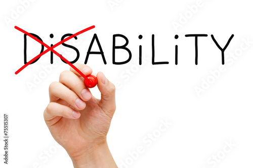Photo  Ability Not Disability