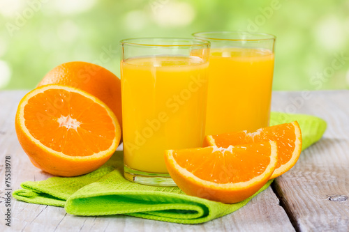 Foto op Plexiglas Sap Fresh orange juice