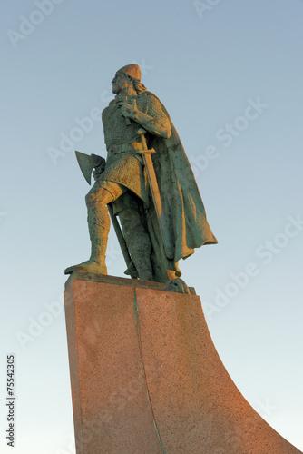 Leif Erikson Fototapet