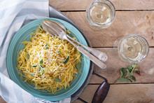Spaghetti Squash With Herbs An...