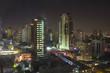 Night seen in cityscape at Bangkok