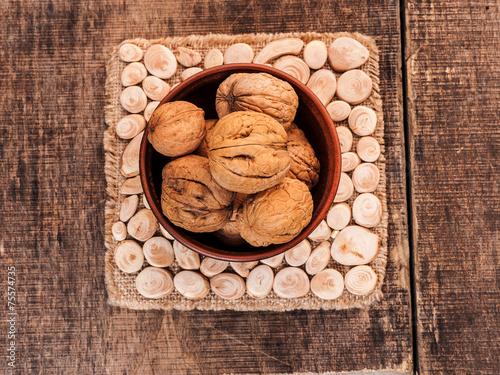 Keuken foto achterwand Baobab Walnut kernels