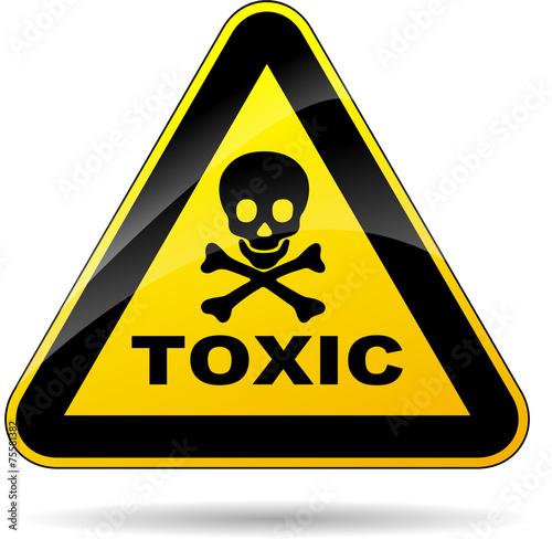 Foto toxic sign