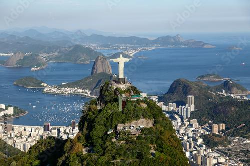 In de dag Rio de Janeiro Rio de janeiro - Corcovado