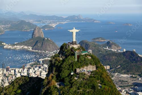 Deurstickers Rio de Janeiro Rio de janeiro - Corcovado