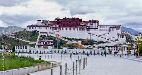 Fotografie, Obraz  Palata Palace at tibet of china