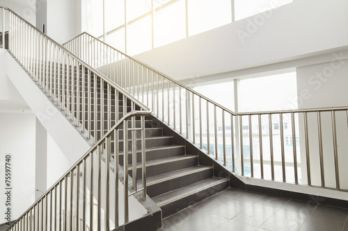 Keuken foto achterwand Trappen stairs in office