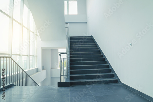 Canvas Prints Stairs stairs in office