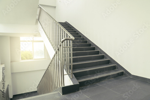 Photo sur Toile Escalier stairs in office