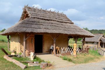Fototapeta na wymiar Historical settlement
