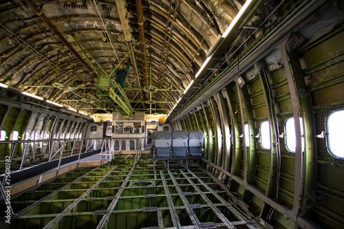 Fotografia Boeing 747 inside
