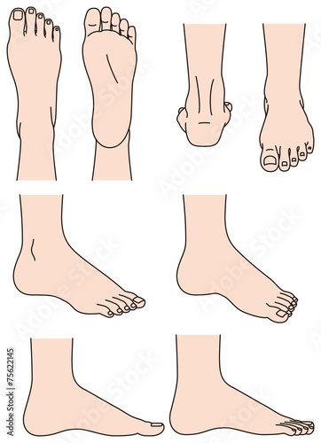 Fotografia  足の形