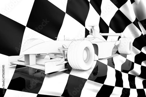 Foto op Plexiglas F1 Sport car