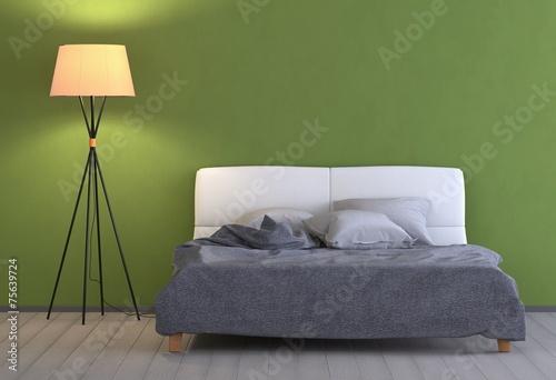 Grünes Schlafzimmer mit Lampe – kaufen Sie diese ...
