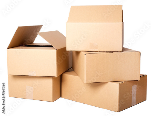 Photographie  Cartons