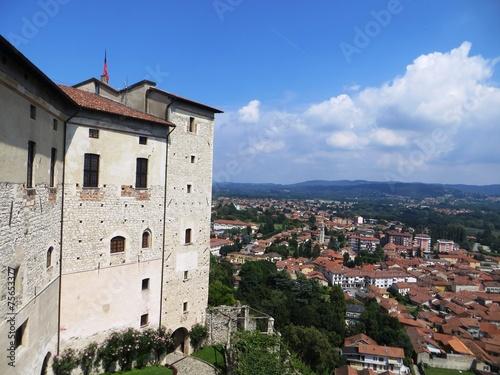 Fotografie, Obraz  Angera - Rocca - Lago Maggiore