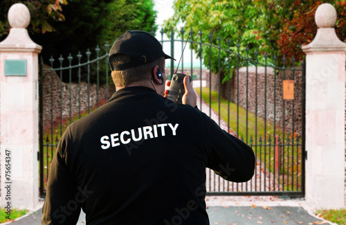 Fotografía  security guard