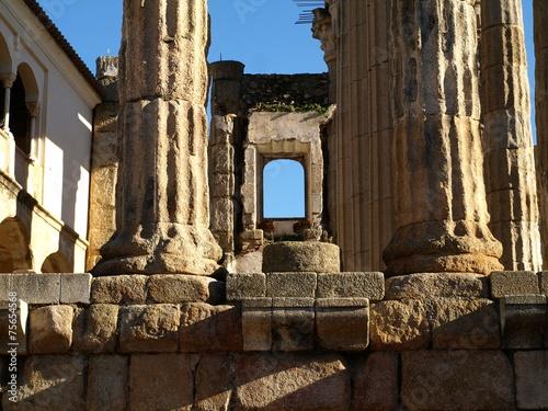 Fotografie, Obraz  Templo romano de Diana en Mérida 10