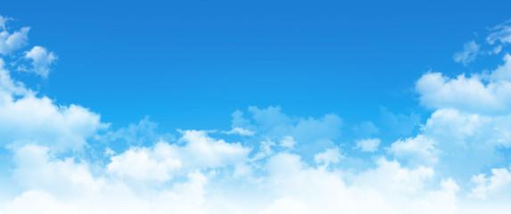 Fototapeta panoramic cloudscape