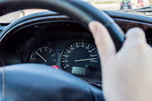 Fotografie, Obraz  reckless driving