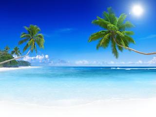 Tropikalna rajska plaża