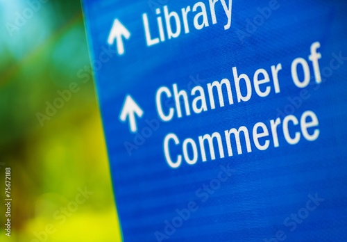 Chamber of Commerce Canvas Print