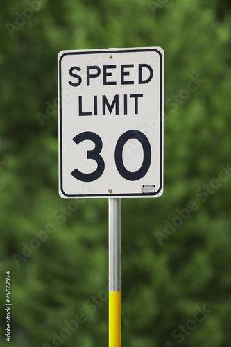 Fotografía  Speed Limit 30