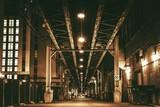 Chicago City Train Bridge