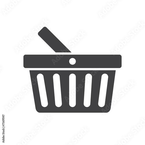 Obraz na plátně  Basket icon