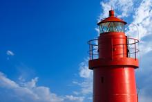 Red Lighthouse - La Spezia Italy