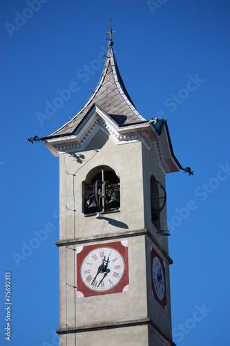 Photo  Uhrzeit - Kirchturm - Italien