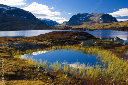 Papiers peints Scandinavie landscape of Southern Vestlandet, Norway