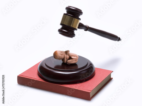 Photo Law concept: abortion law