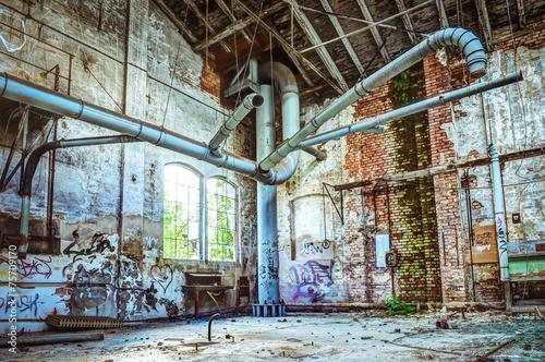 Poster Ruine industrial ruin