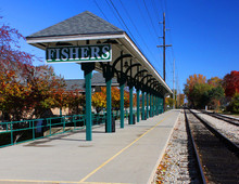 Fishers, Indiana Train Station