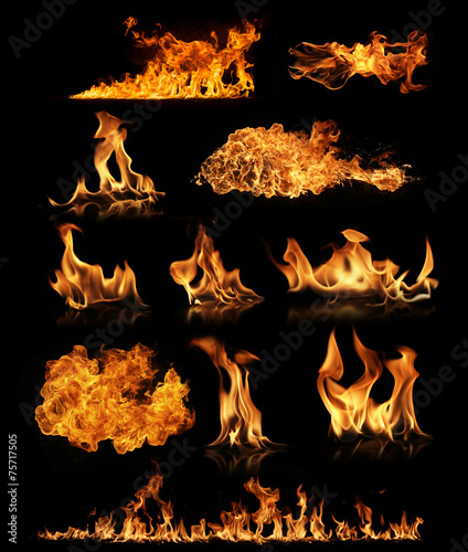 Photo Stands Fire / Flame Fire collection