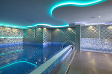Swimming Pool In Luxury Hotel Spa Center