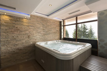 Jacuzzi Bath In Hotel Spa Cent...
