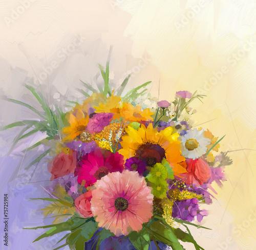 wazon-z-martwa-natura-bukiet-kwiatow-obraz-olejny