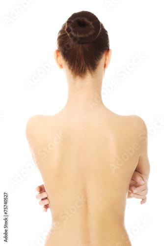 Fotografía  Naked woman's back