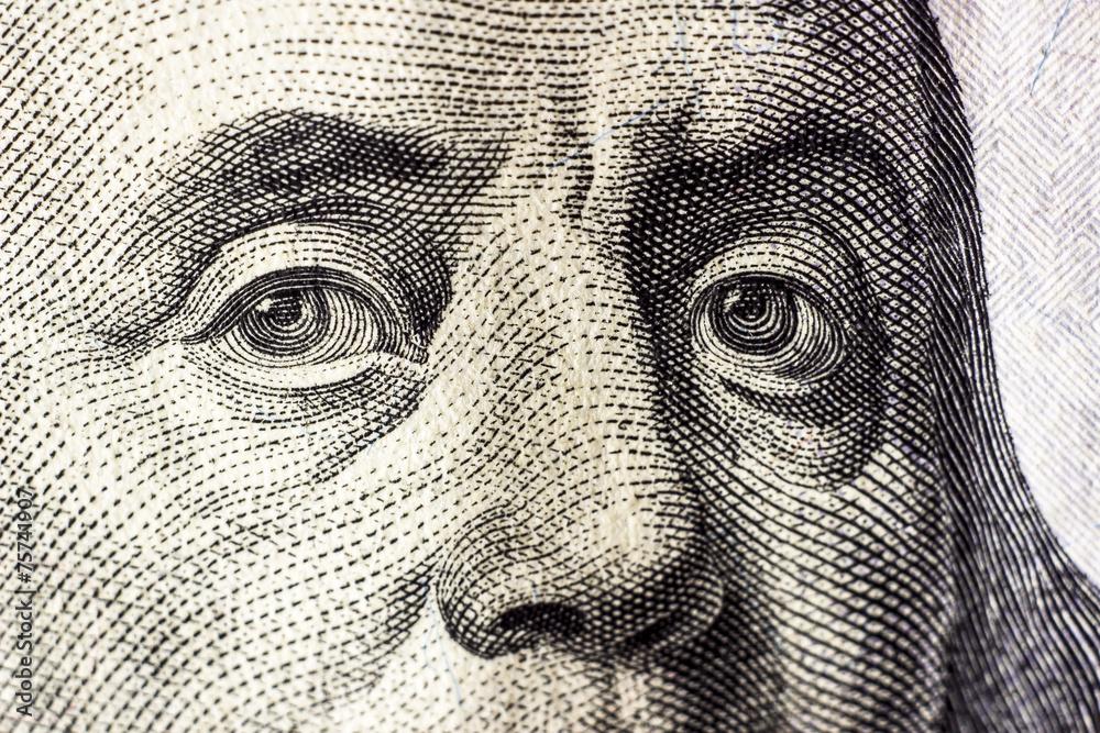 Fototapety, obrazy: dollars detail