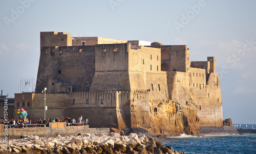 Papiers peints Naples Castel dell'Ovo in Naples