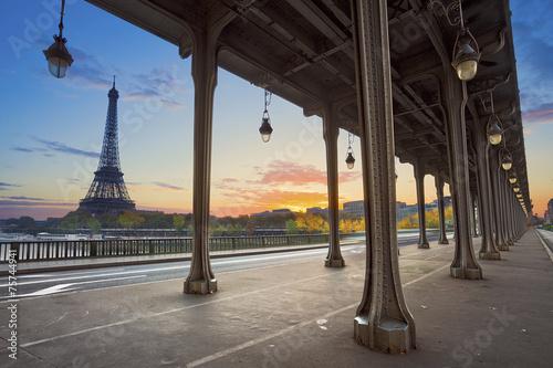 Foto op Canvas Parijs Paris.