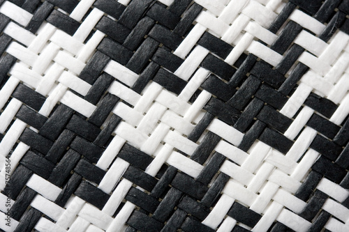 Photo  Houndstooth black and white background