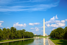 Washington Monument At Nationa...