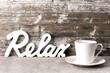 Kaffee - Relax - Konzept